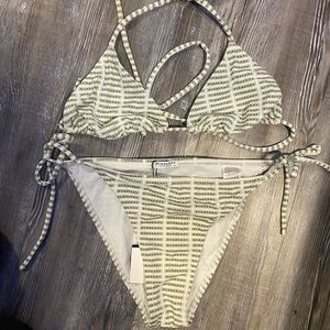Burberry 2 piece bathing suit